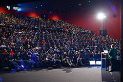 What a crowd at Devoxx