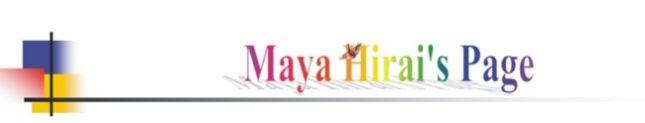 Maya Hirai's Weblog