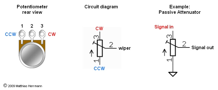energy harvesting applications potentiometer connection diagram