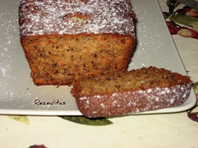 CAKE DE ZANAHORIAS Y NUECES