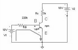 NPN no circuito