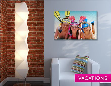 Easy Canvas Prints vacation