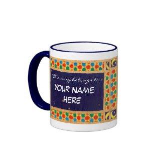 Customisable Name-specific Ringer Mug mug