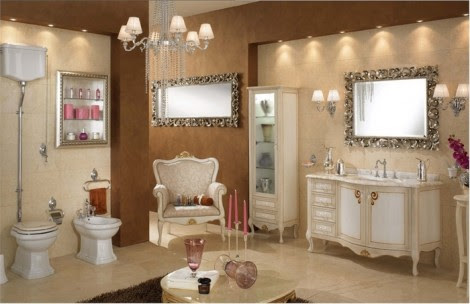 Luxury Contemporary bathroom Design Pictures