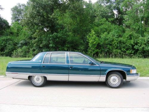 Purchase used 1996 Cadillac Fleetwood Brougham, 50k, Dk ...