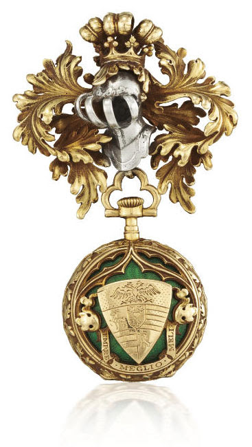 Armorial Fob watch