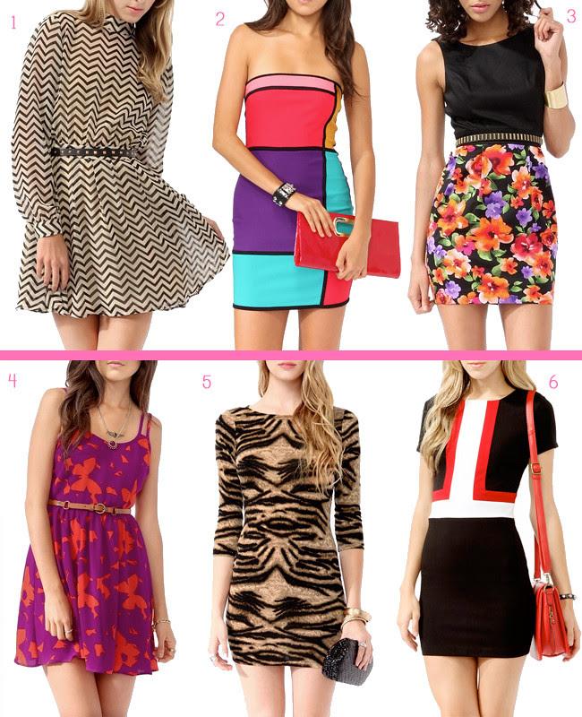 Forever21 Patterned Dresses