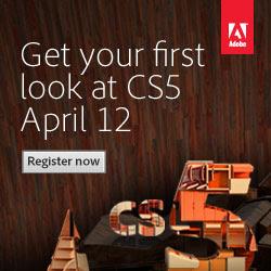 Adobe CS5 - First look April 12