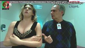 Barbara Paz sensual na novela Cristal