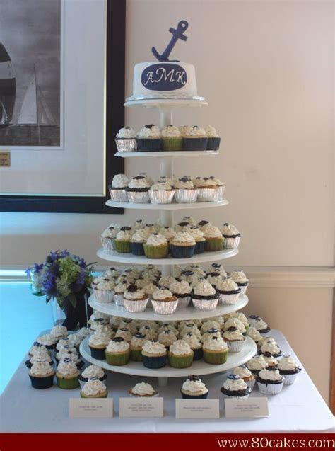 25  best ideas about Nautical wedding cupcakes on