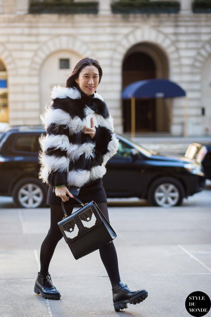 Eva Chen Street Style Street Fashion Streetsnaps by STYLEDUMONDE Street Style Fashion Blog