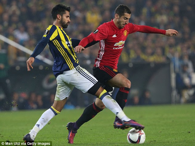 Mourinho included Henrikh Mkhitaryan in his squad for the first time since mid-September