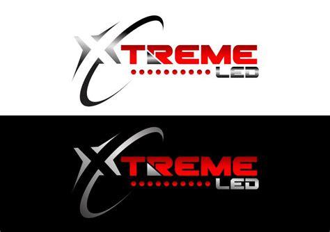 bold modern  company logo design  xtreme led