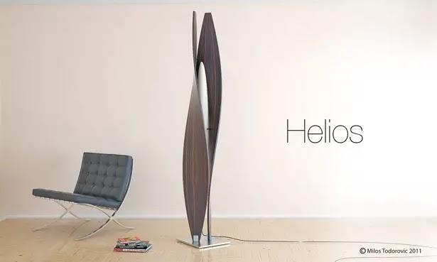 Industrial Reading By Wyn Jones Industrial Design Blog Helios Floor Lamp By Milos Todorovic