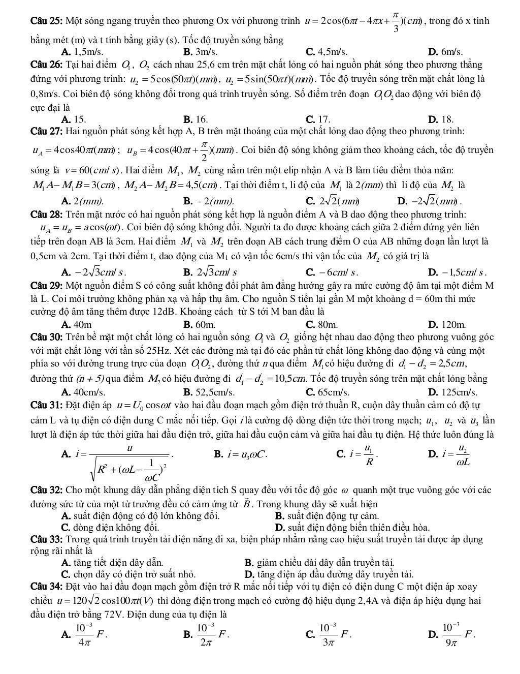 de thi thu vat ly trang 3