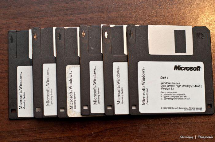 Windows 10 supportera les disquettes !