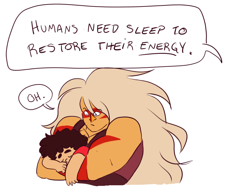 What better tactic to protect yourself during sleep than to fall asleep on the strongest mom?