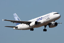 One World Alliance: <br> Airbus A320 CC-BAC:
