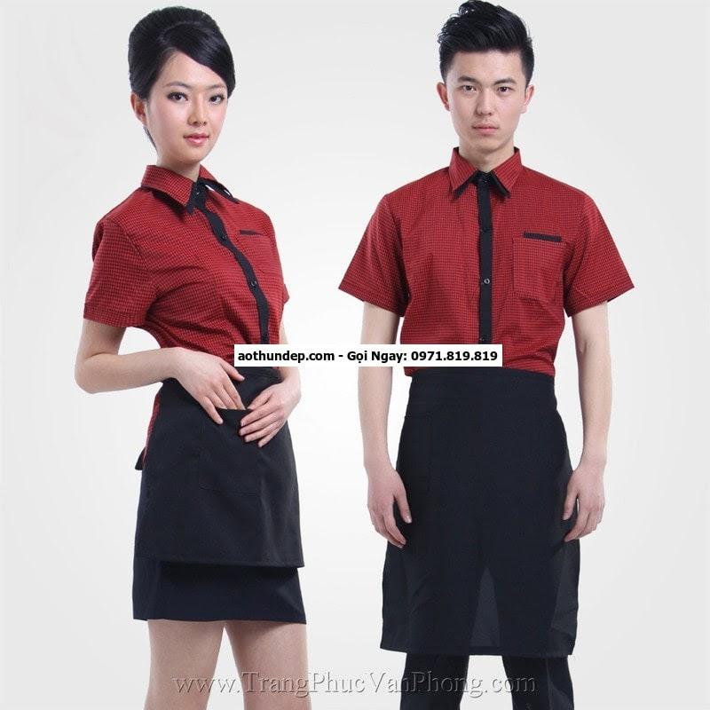đồng phục cafe đẹp