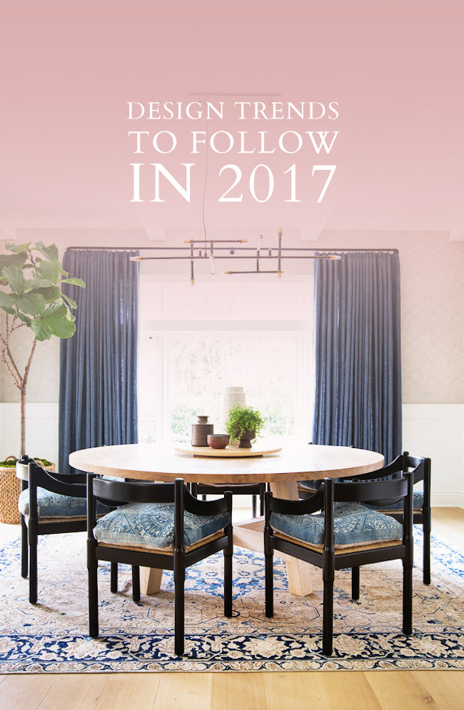 My Favourite Design Trends For 2017 Lark Linen
