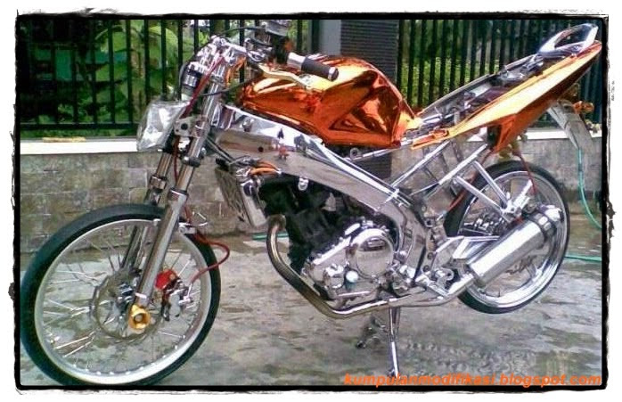 Yamaha Vixion New Modifikasi Motor