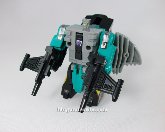 Transformers  Seawing G1 Reissue - modo robot