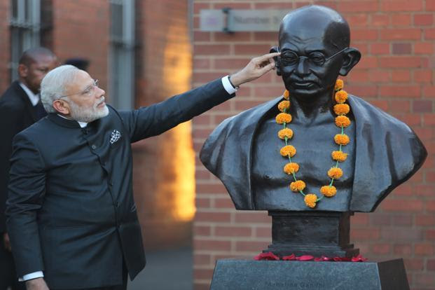 A file photo of Prime Minister Narendra Modi in Johannesburg, South Africa, in August 2016. Photo: Reuters