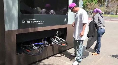 Nuevas máquinas expendedoras de bicicletas, kayaks y tablas de surf