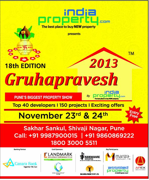 22-11-2013 India Property Gruhapravesh 2013