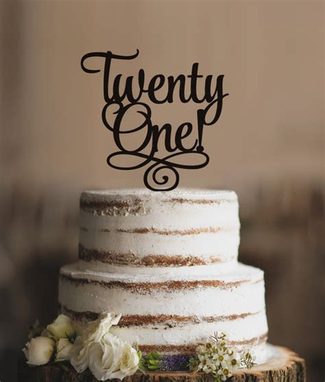 Best 25  21 cake topper ideas on Pinterest   21st cake