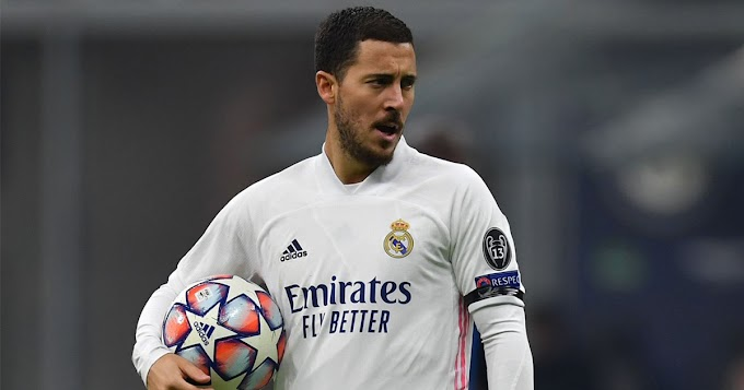 Hazard scores first Champions League goal in almost 3 years
