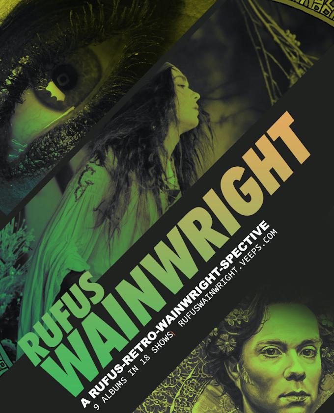 Rufus Wainwright Announces Rufus-Retro-Wainwright-Spective! 2021