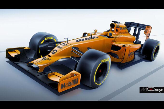 Formula 1 - Estudo - McLaren 2014