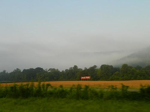 morning fog, Comfort, Tennessee