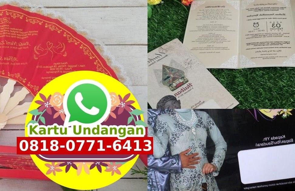 Kartu Undangan Pernikahan Adat Bali - Kartu Undangan