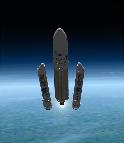 Ariane SRB Sep
