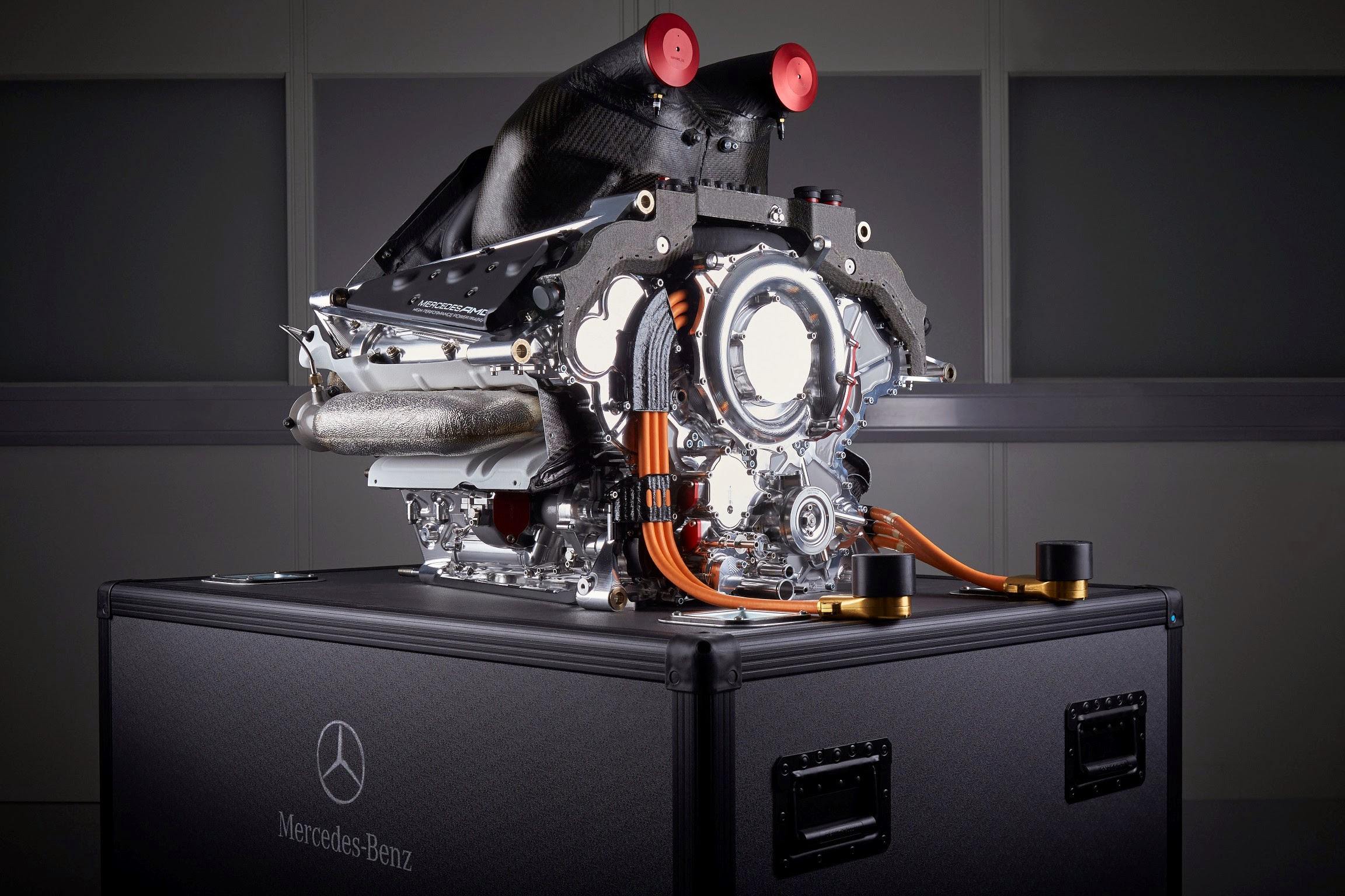 Mercedes F1 W06 is Bringing Its Enhanced Engine to Canada