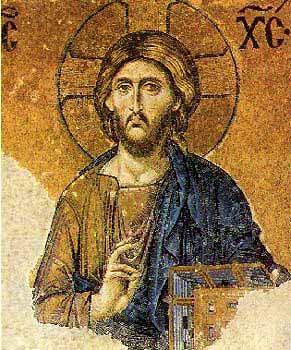 Mosaïque du Christ Pantocrator (Sainte-Sophie)