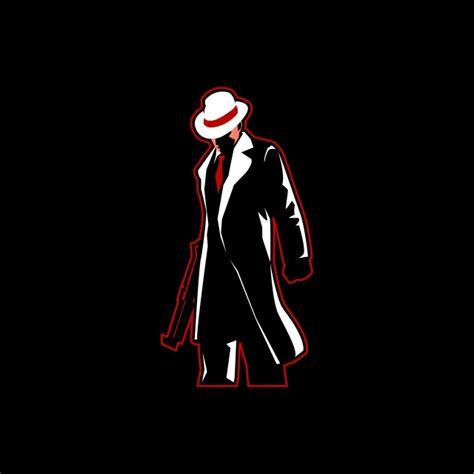 mafia  sport logo mascot mafia gangster crime png