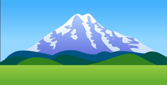 秋田のイラスト置き場 秋田の自然景観フリー素材