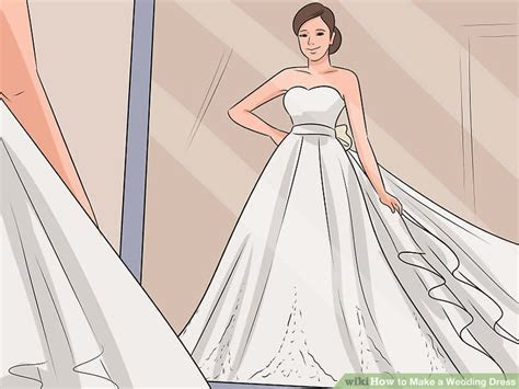 How to Make a Wedding Dress (with Pictures)   wikiHow