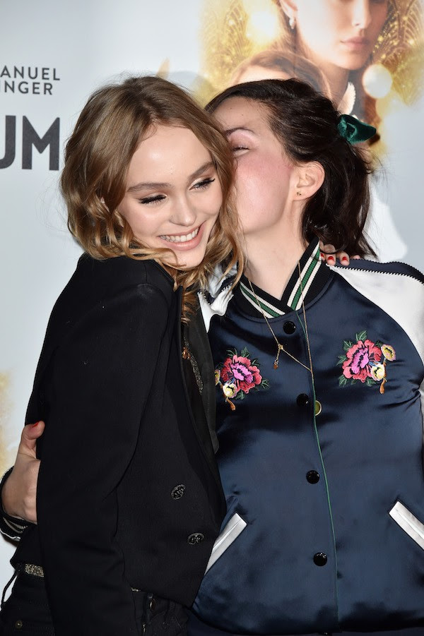 A atriz Lily-Rose Depp (Foto: Getty Images)