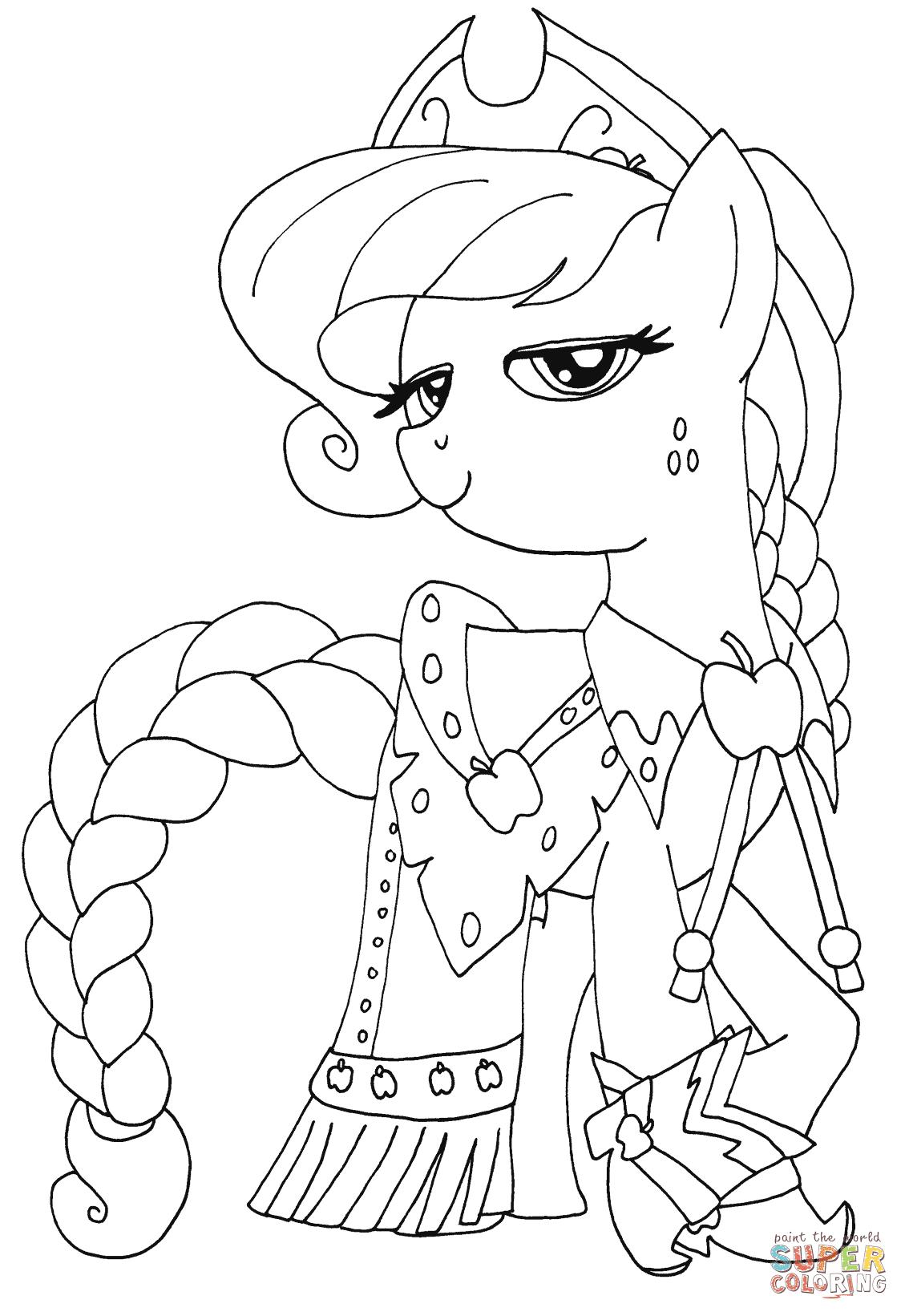 my little pony equestria girl ausmalbilder  top kostenlos