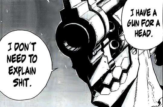 No Guns Life I Have A Gun For A Head