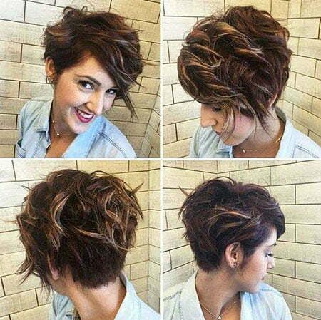 20 Stylish Short Hairstyles For Wavy Hair Crazyforus
