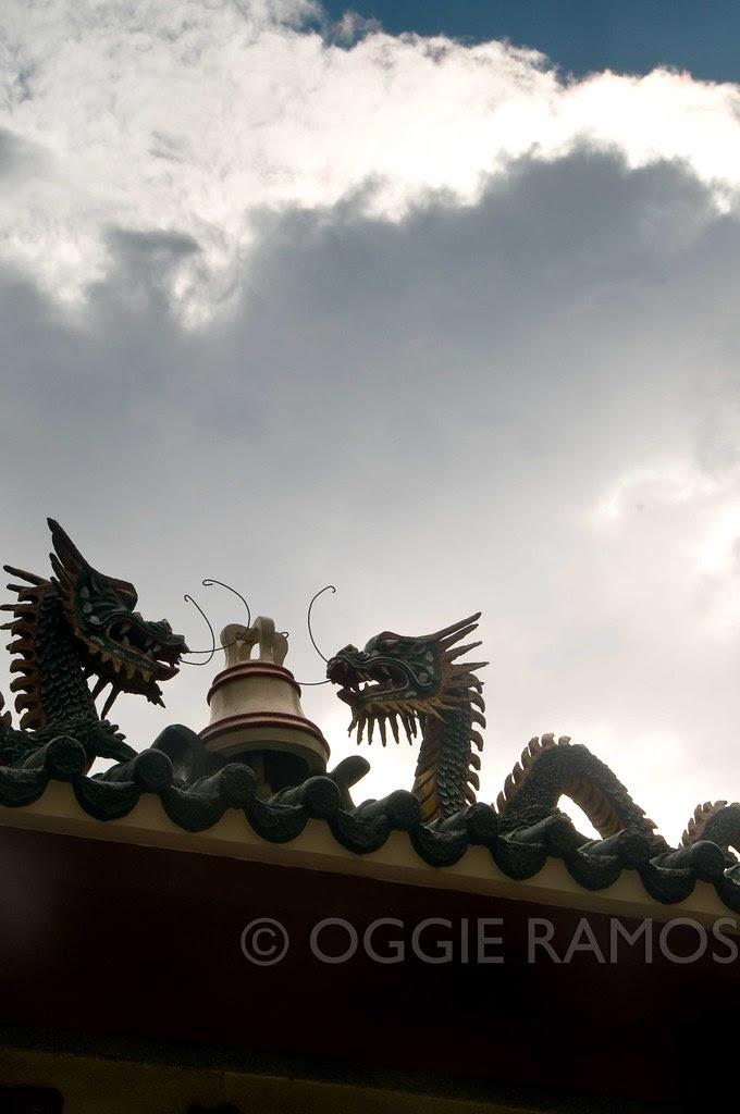 Baguio - Bell Church Dragon Silhouette