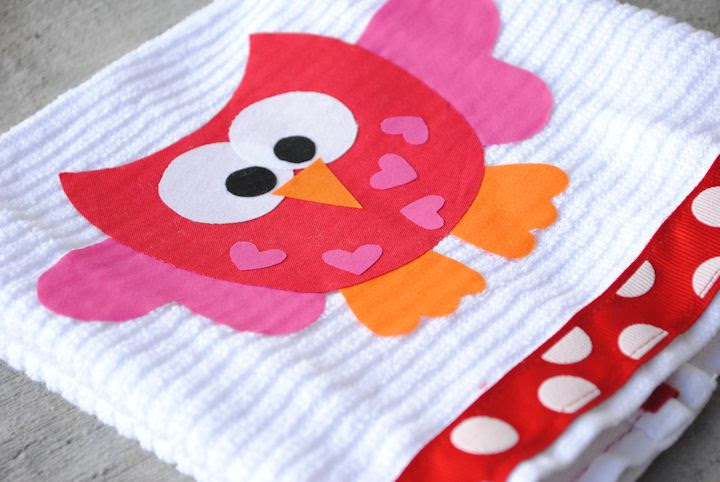 Valentine's Day Hand Towels
