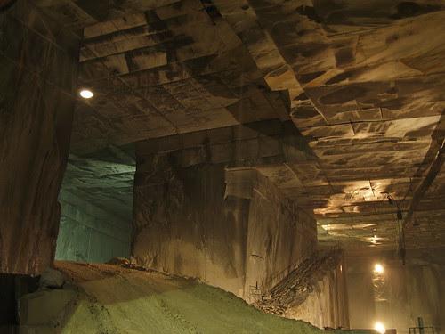 Marble mine, Carrara