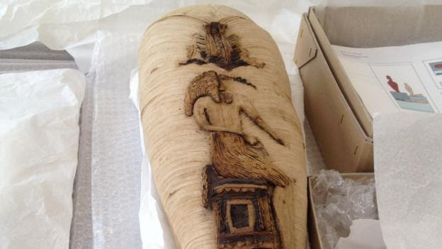 The mummies were exquisitely decorated