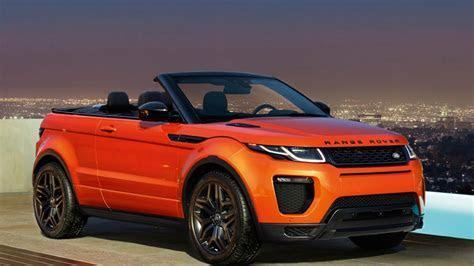 land rover range rover evoque convertible  price